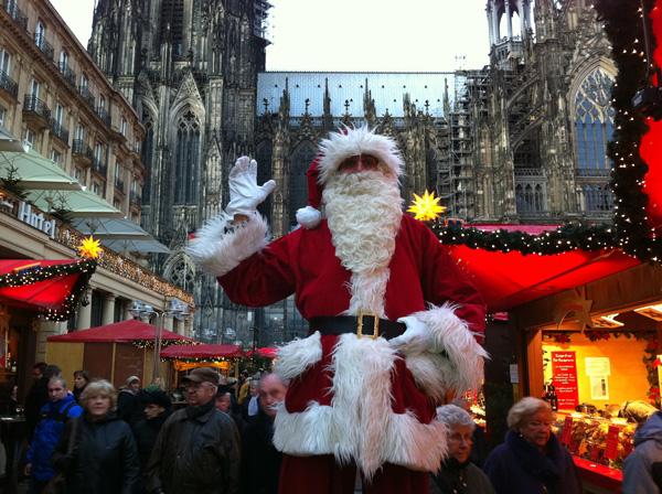 """""""ZAUBERhafte Show mit dem Weihnachtsmann und einem Elf"""" (Stand 31)"""