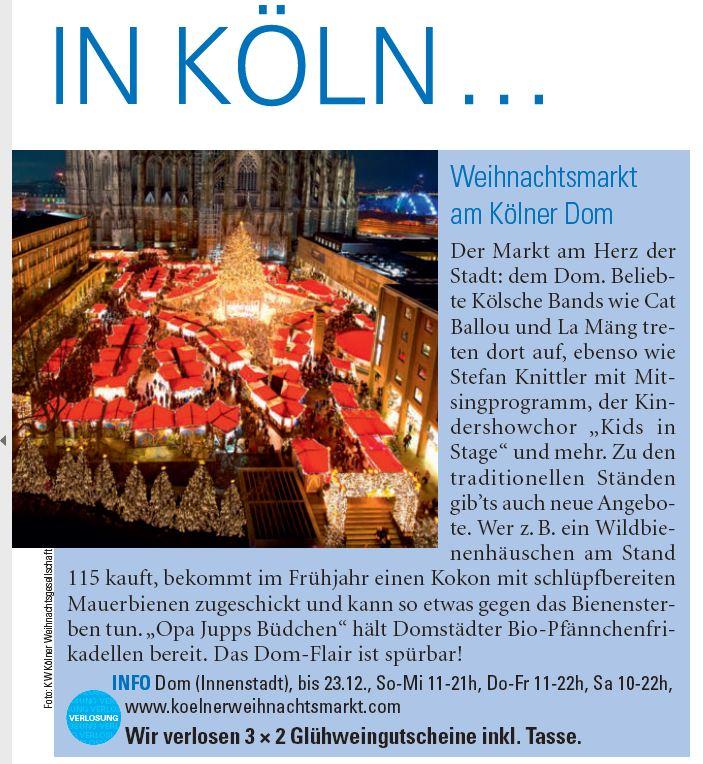 Kölner Illustrierte 28.11.2018