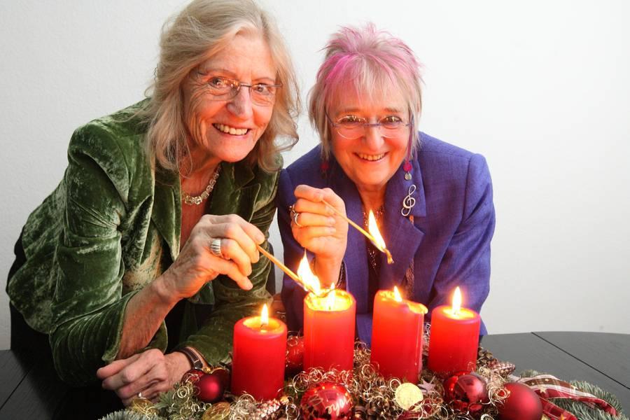 Monika Kampmann und Ingrid Ittel-Fernau – Kölsche Weihnacht mit Kindern