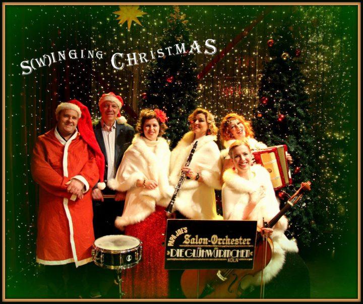 Die Glühwürmchen – S(winging) Christmas – och op Kölsch