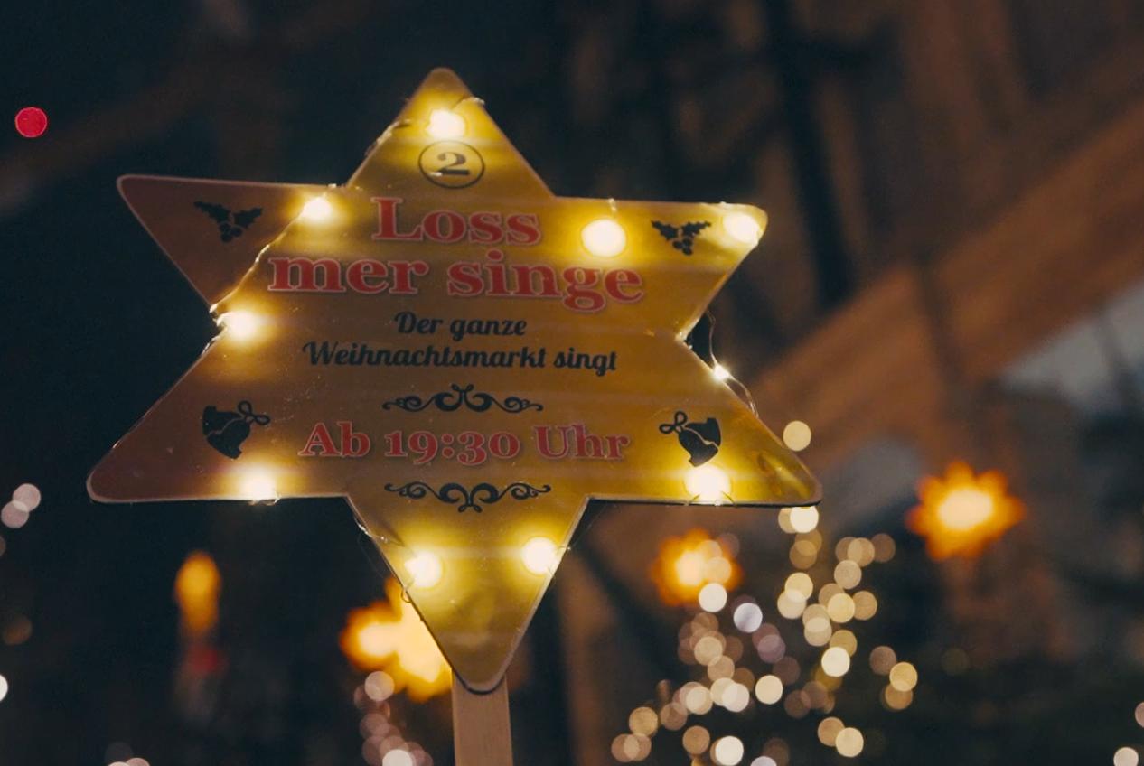 Loss mer singe Spezial - Der ganze Weihnachtsmarkt singt