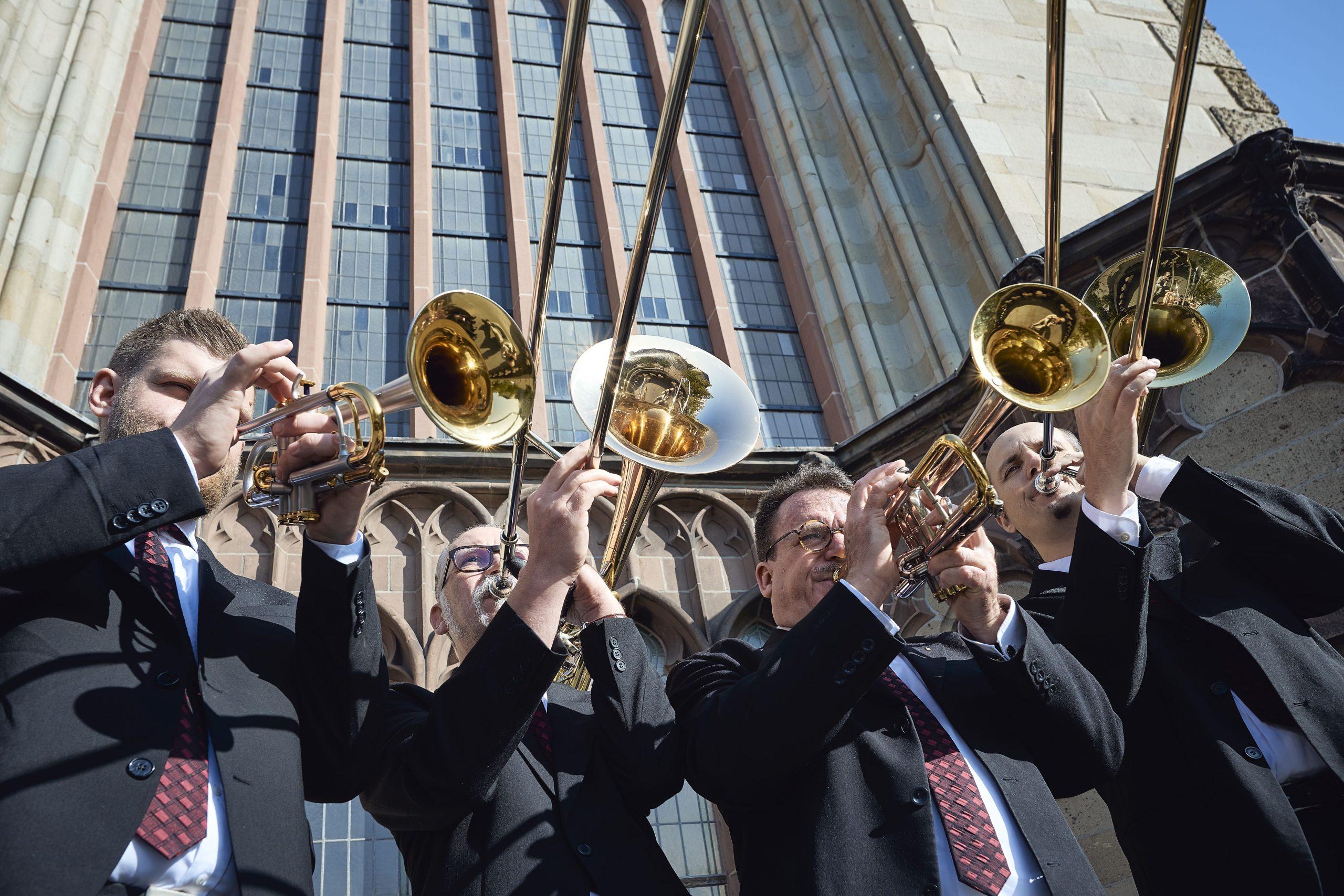 Brassquartett goes Christmas! Die Kölner Turmbläser mit weihnachtlichem Programm